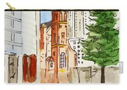 San Francisco - California Sketchbook Project Carry-all Pouch by Irina Sztukowski