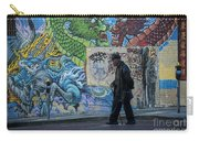 San Francisco Chinatown Street Art Carry-all Pouch by Juli Scalzi