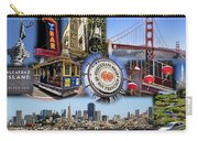 San Francisco Collage Carry-all Pouch