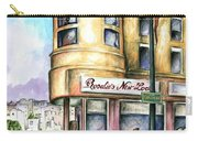 San Francisco North Beach - Watercolor Art Carry-all Pouch