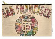 San Francisco Giants Logo Vintage Carry-all Pouch
