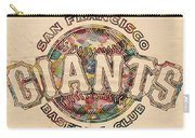 San Francisco Giants Poster Vintage Carry-all Pouch