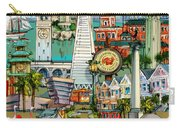 San Francisco Illustration Carry-all Pouch