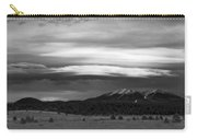 San Francisco Peaks From Williams Carry-all Pouch