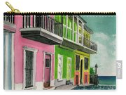 Old San Juan Puerto Rico Street Scene Carry-all Pouch