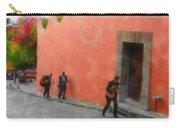 San Miguel De Allende Mexico Streets Carry-all Pouch
