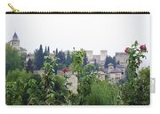 San Nicolas View Of The Alhambra On A Rainy Day - Granada - Spain - Spain Carry-all Pouch