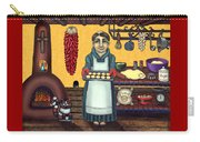 San Pascual Making Biscochitos Carry-all Pouch by Victoria De Almeida