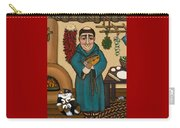 San Pascual Carry-all Pouch by Victoria De Almeida