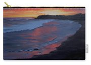 San Simeon Sunset Carry-all Pouch