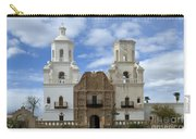 San Xavier Del Bac Mission Facade Carry-all Pouch