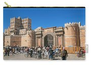 Sanaa Old Town Busy Street In Yemen Carry-all Pouch