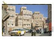 Sanaa Old Town In Yemen Carry-all Pouch