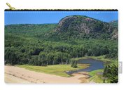 Sand Beach And The Beehive Carry-all Pouch