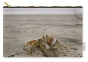 Sand Crab Carry-all Pouch by Nelson Watkins