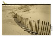 Sand Dunes And Fence Carry-all Pouch