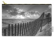 Sand Dunes In Black And White Carry-all Pouch