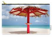 Sand Haven Beach Hut Carry-all Pouch
