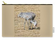 Sand Hill Cranes Eat Togeather Carry-all Pouch