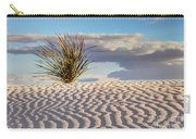 Sand Patterns And The Yucca Carry-all Pouch