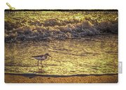 Sand Piper Carry-all Pouch by Marvin Spates