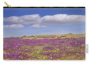 Sand Verbena On The Imperial Sand Dunes Carry-all Pouch