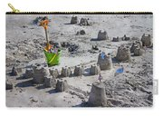 Sandcastle Squatters Carry-all Pouch by Betsy Knapp
