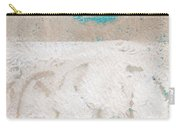 Sandcastles- Abstract Painting Carry-all Pouch by Linda Woods