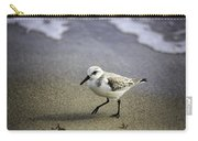 Sanderling On The Shore Carry-all Pouch