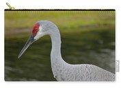 Sandhill Crane Close Up Carry-all Pouch