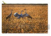 Sandhill Crane Dance Carry-all Pouch