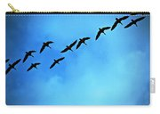 Sandhill Crane Flyover Carry-all Pouch