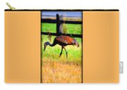 Sandhill Crane IIi Carry-all Pouch