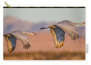 Sandhill Crane Pair Carry-all Pouch