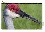 Sandhill Crane Portrait Carry-all Pouch