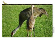 Sandhill Crane With Chick II Carry-all Pouch
