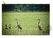 Sandhill Cranes And Friends Carry-all Pouch