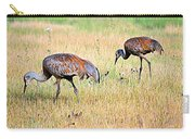 Sandhill Cranes Ll Carry-all Pouch