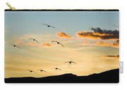 Sandhill Cranes In New Mexico Carry-all Pouch