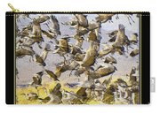 Sandhill Cranes Startled Carry-all Pouch