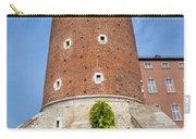 Sandomierska Tower Of Wawel Castle In Krakow Carry-all Pouch