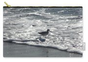Sandpiper In The Surf Carry-all Pouch