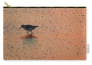 Sandpiper On Shoreline Carry-all Pouch