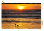 Sandpipers At Sunset Carry-all Pouch