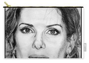 Sandra Bullock In 2005 Carry-all Pouch by J McCombie
