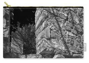 Sandstone Arch Jerome Black And White Carry-all Pouch