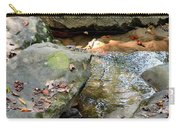 Sandstone Boulders At Hurricane Branch Carry-all Pouch