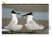 Sandwich Tern Offering Fish Carry-all Pouch