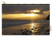 Sandy Bay At Dusk Carry-all Pouch