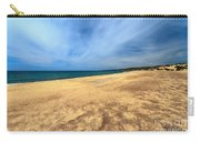 sandy beach in Piscinas Carry-all Pouch
